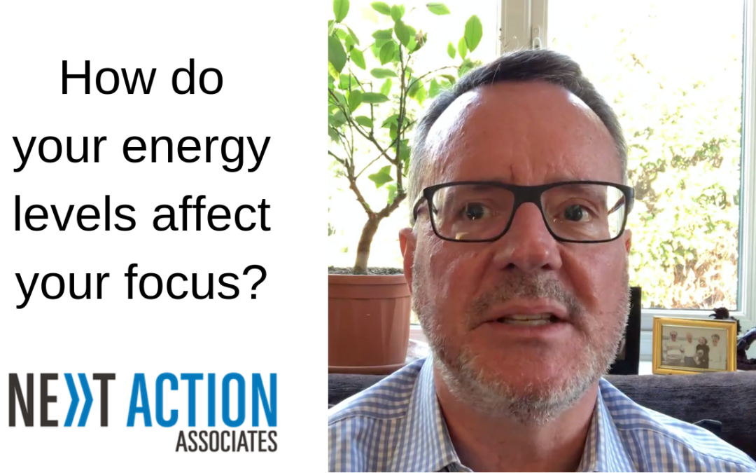 How Do Your Energy Levels Affect Your Focus?