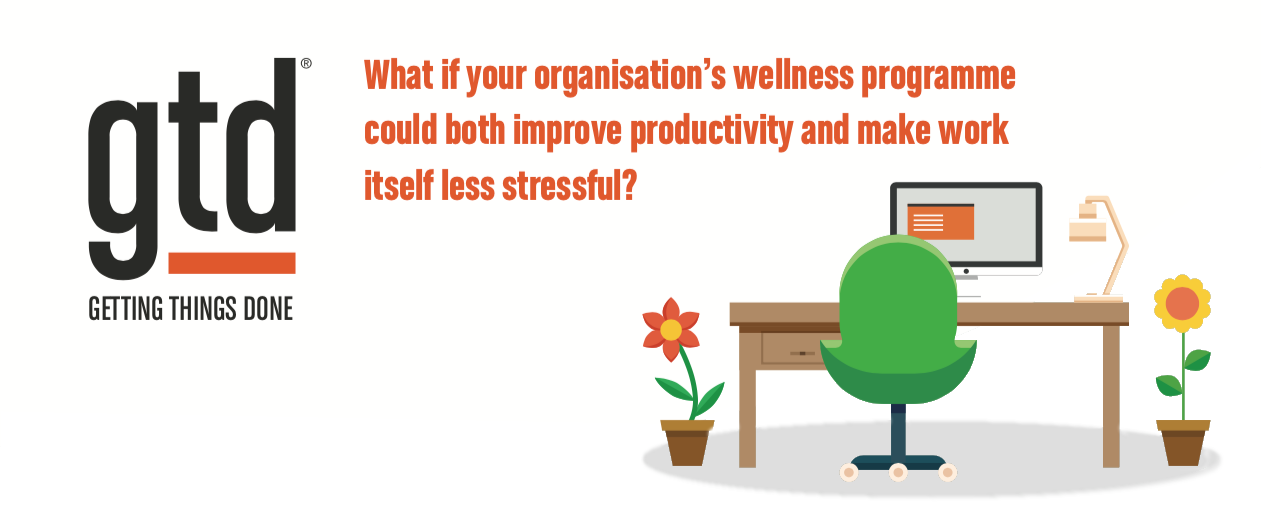 What if your organisation's wellness programme could both improve productivity and make work itself less stressful?
