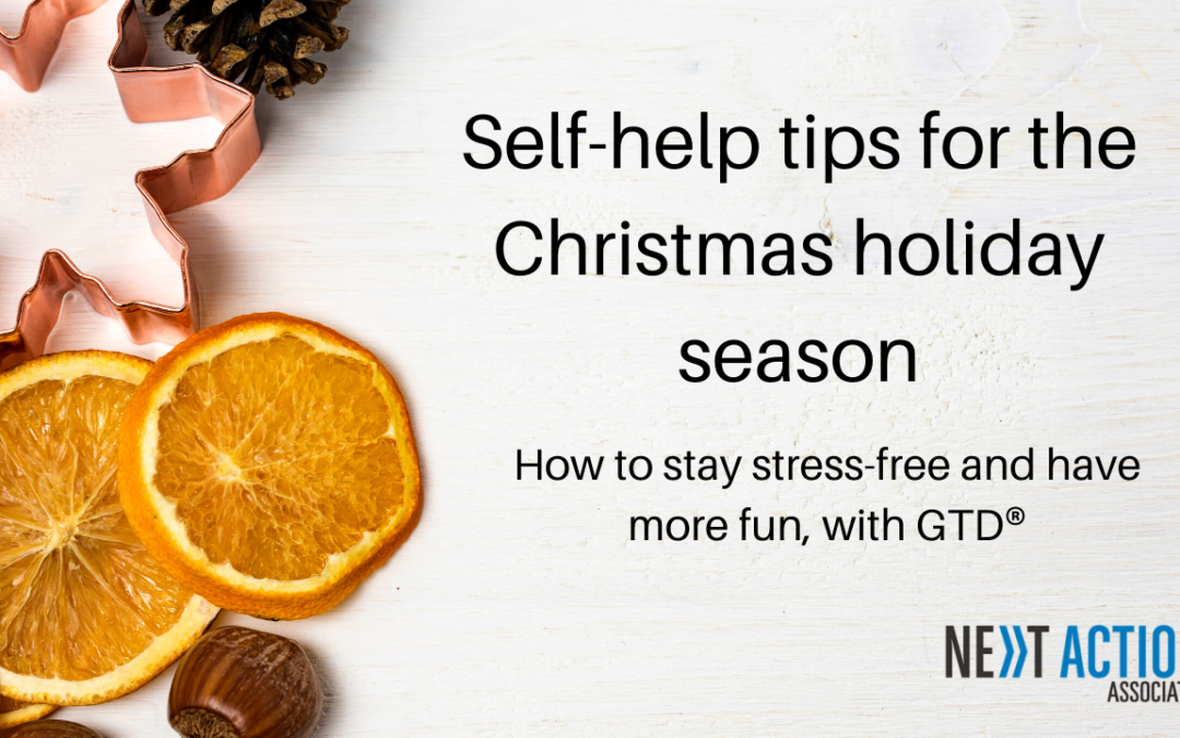 Self-Help Tips For the Christmas Holiday Season