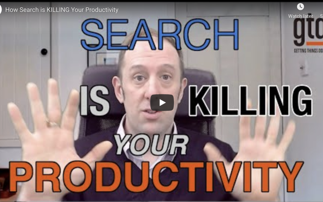 How Search is Killing Your Productivity