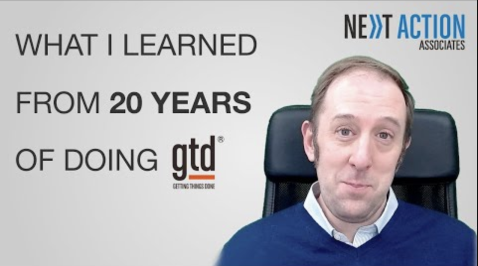 What I Learned From Doing 20 Years of GTD®