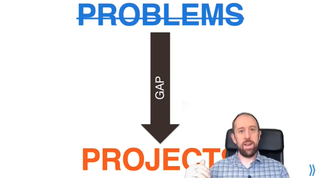 Turn Your Problems Into Projects