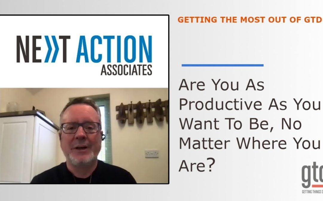 Are You As Productive As You Want To Be, No Matter Where You Are?