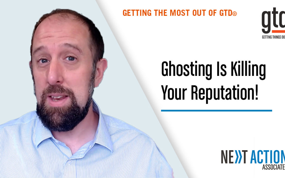 Ghosting Is Hurting Your Reputation – Here's How To Fix It!