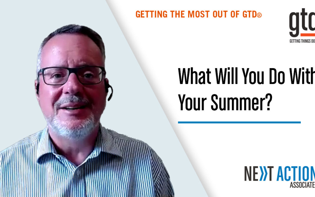 Tips For A Productive Summer